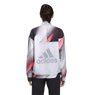 Adidas Womens Unleash Confidence Woven Track Top - White