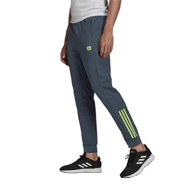 Adidas Mens D2M Motion Tracksuit Bottoms - Navy