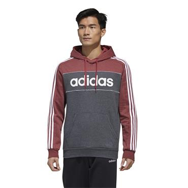 Adidas Mens Essentials Hoodie - Grey