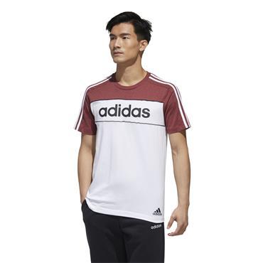 Adidas Mens Essentials Tape T-Shirt - White