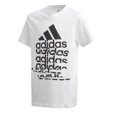 Adidas Kids Badge Of Sport T-Shirt - WHITE