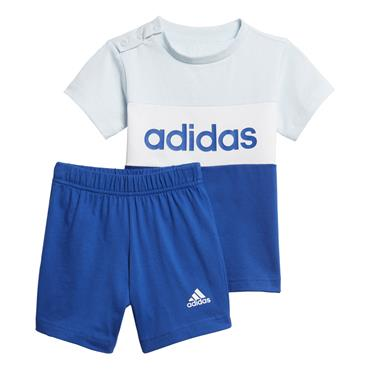Adidas Boys Set Tshirt and Shorts Set - Blue