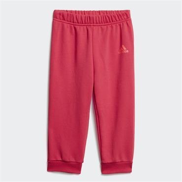 Adidas Girls Lin Jogging Tracksuit - Pink