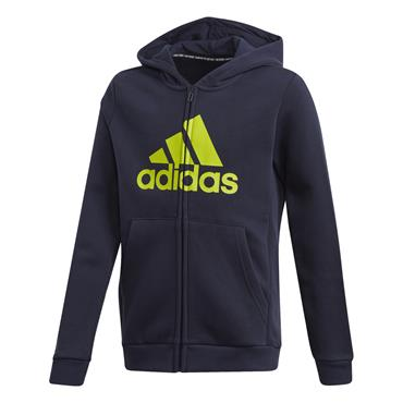 Adidas Boys Must Haves FZ Hoodie - Navy