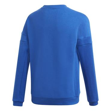 Adidas Boys Crew Sweatshirt - BLUE