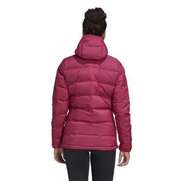 Adidas Womens Helionic Padded Jacket - Pink