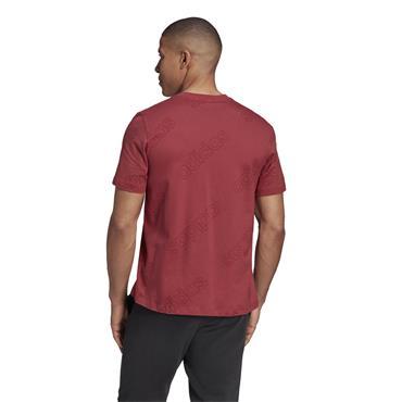 Adidas Mens Fav T-Shirt - Red