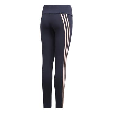Adidas Girls Three Stripe Leggings - Navy