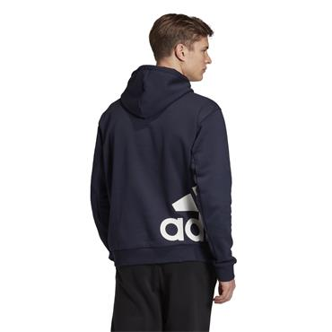 Adidas Mens Hooded Sweatshirt - Navy