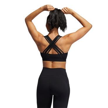 Adidas Womens BT Lace Bra - BLACK