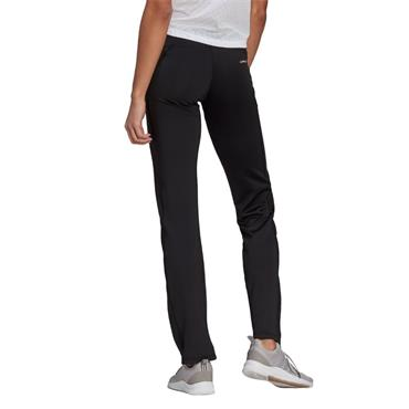 ADIDAS DESIGNED TO MOVE BOOTCUT JOGGERS - BLACK