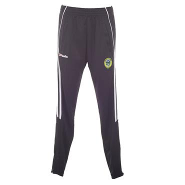 O'Neills Adults Glenswilly GAA Aston Skinny Pants - Black/White