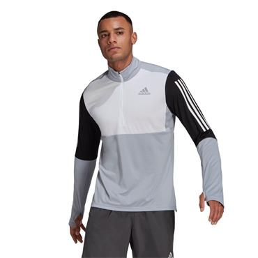 Adidas Mens Own The Run HZ Top - White