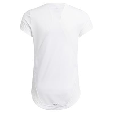 Adidas Girls G.A.R. Bold T-Shirt - WHITE