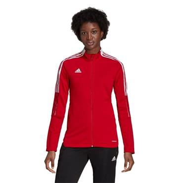 Adidas Mens Trio21 Jacket - Red