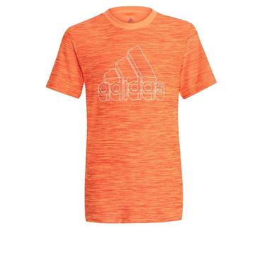 ADIDAS KIDS BAR T-SHIRT - Orange