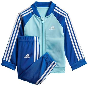Adidas Infants 3 Stripe Tracksuit - BLUE