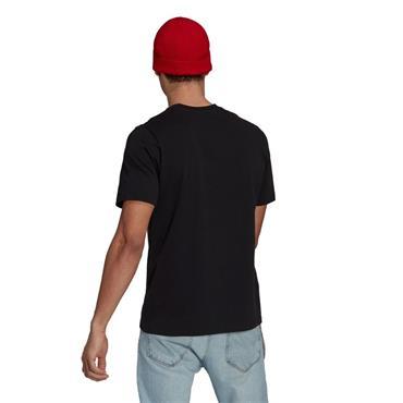 Adidas MUFC Tee - BLACK