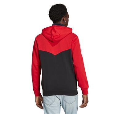 MENS ADIDAS MUFC FZ - Red/Black