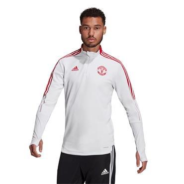 Adidas MUFC Training Top - WHITE