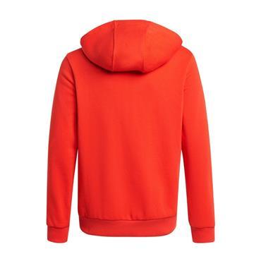 Adidas Junior Badge Of Sport Hoodie - Red