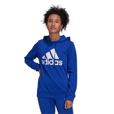 Adidas Essentials Relaxed Logo Hoody - BLUE