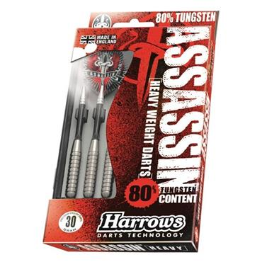 Harrows Assassin Darts - Silver