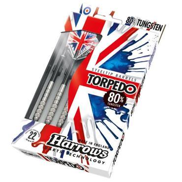 Harrows Torpedo 80% Darts - Silver