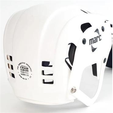 Marc Hurling Helmet - WHITE