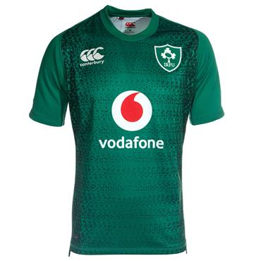 CANTERBURY ADULTS IRFU 18/19 HOME JERSEY - GREEN