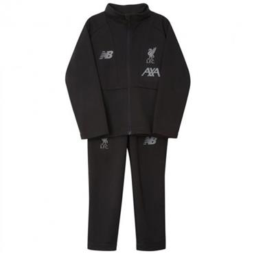New Balance Kids Liverpool Tracksuit 2019/20 - BLACK