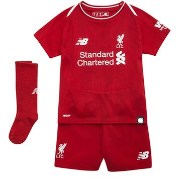 KIDS LIVERPOOL HOME KIT 2018/19 - RED