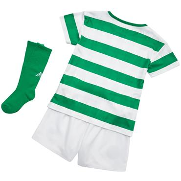 KIDS CELTIC FC HOME KIT 2018/19 - WHITE/GREEN