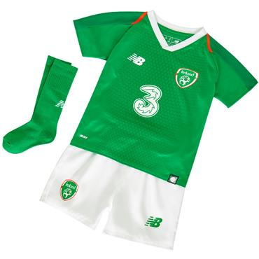 NEW BALANCE KIDS FAI HOME KIT 18/19 - GREEN