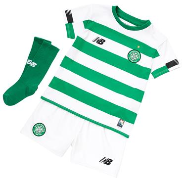 New Balance Kids Celtic Home Kit 2019/20 - Green/White