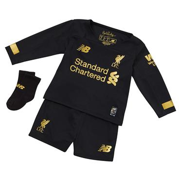 New Balance Kids Liverpool Goalkeeper Kit 2019/20 - Black