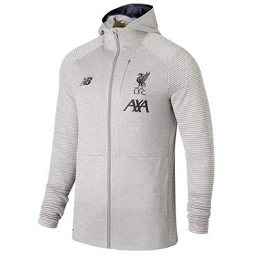 New Balance Kids Liverpool FC Full Zip Hoody - Grey