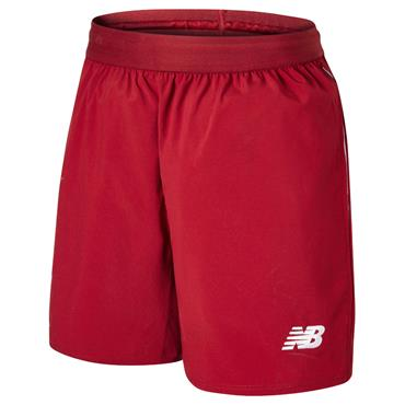 KIDS LIVERPOOL HOME SHORTS 2018/19 - RED