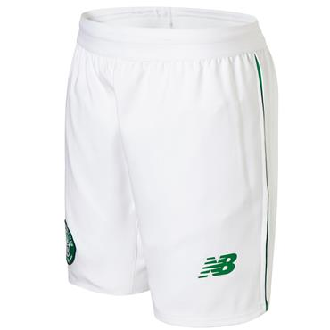 KIDS CELTIC FC HOME SHORT 2018/19 - WHITE