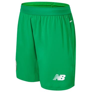 New Balance Kids FAI Ireland Away Shorts 2018/19 - Green