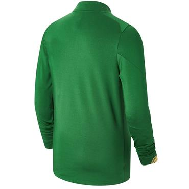 New Balance FAI Ireland Kids Long Sleeve Midlayer Top 19/20 - Green
