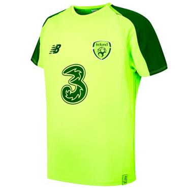 KIDS FAI ELITE TRAINING JERSEY - LIME