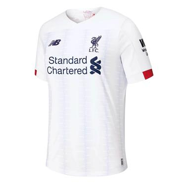 New Balance Kids Liverpool Away Jersey 2019/20 - White