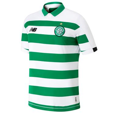 New Balance Kids Celtic Home Jersey 2019/20 - Green/White
