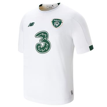 New Balance Kids FAI Ireland Away Jersey 2019/20 - White
