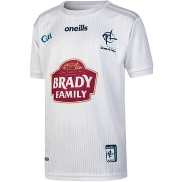 O'Neills Kids Kildare GAA Home Jersey 19/20 - White