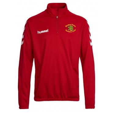 Hummel Adults Kildrum Tigers FC Half Zip Sweater - Red