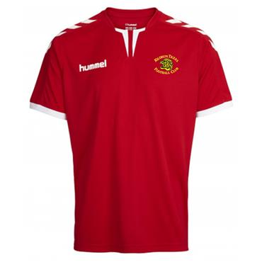 Hummel Adults Kildrum Tigers FC Jersey - Red