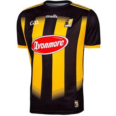 O'Neills Adults Kilkenny GAA Home Jersey 19/20 - BLACK