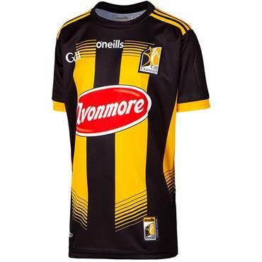 O'Neills Kids Kilkenny GAA Home Jersey 19/20 - BLACK